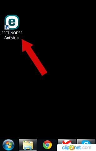 Как запустить сканирование в ESET NOD32 пошаговая инструкция