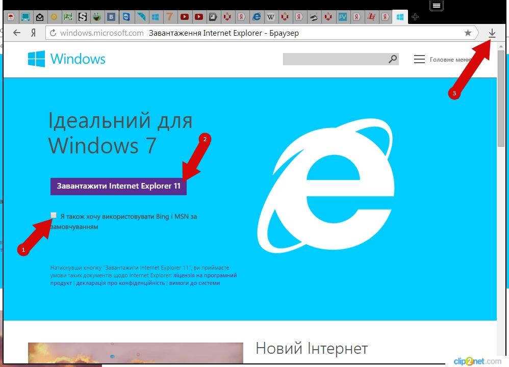internet explorer download скачать тут: