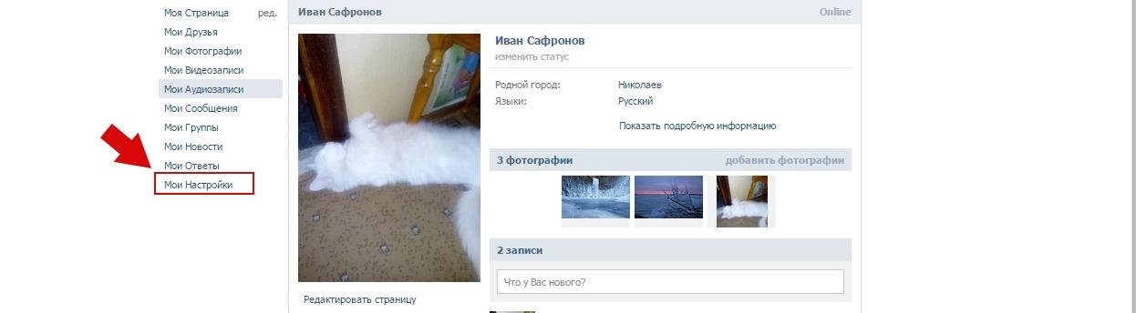 Как узнать историю сеансов в Вконтакте пошаговая инструкция