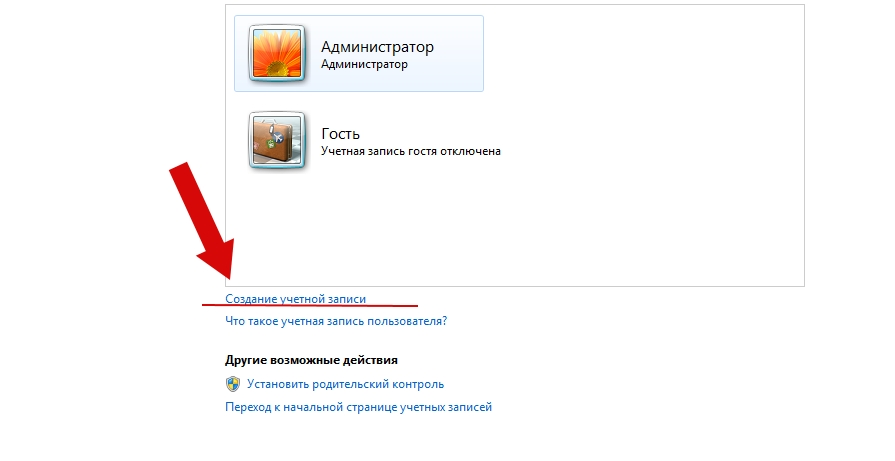 Как создать пользователя в Windows 7 пошаговая инструкция