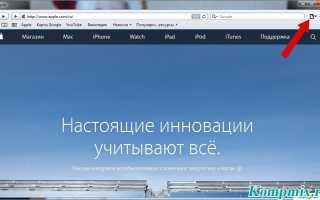 Как открыть новую вкладку в браузере Safari два способа